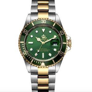 Other - Gold Presidential Watch Silver Quartz DateJust